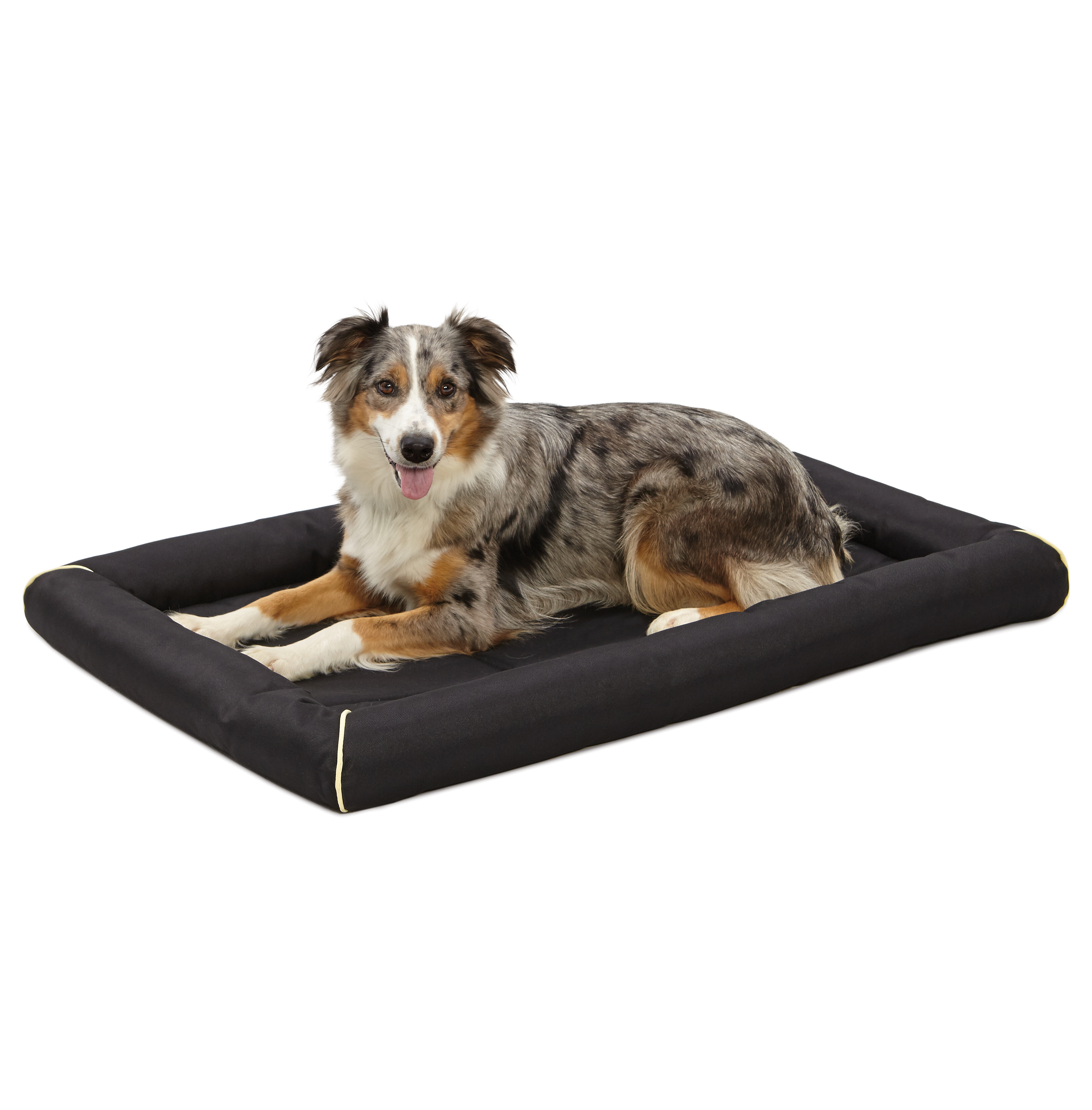 """Midwest 42"""" Black Ultra-Durable Pet Bed"""