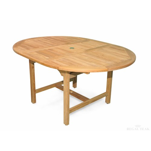 Regal Teak Extension Extendable Teak Dining Table
