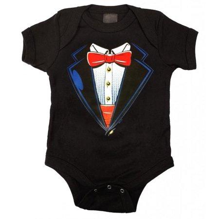 Baby Tuxedo Romper (Tuxedo Baby Romper)