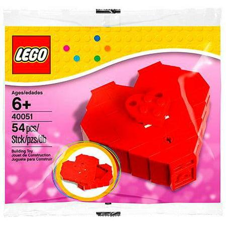 LEGO Valentine's Day Heart Box Mini Set LEGO 40051 [Bagged]](Minecraft Valentine's Day Box)