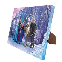 Disney's 'Frozen' Snow Queen Illuminart Canvas Art, 4 by 6-Inch