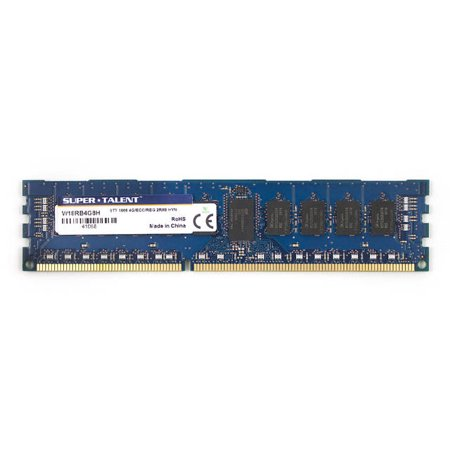 Super Talent DDR3-1866 4GB/256Mx8 ECC/REG CL13 Hynix Chip Server Memory