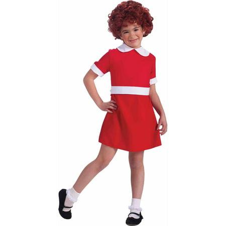 Annie Child Halloween Costume - Dead Orphan Halloween Costume