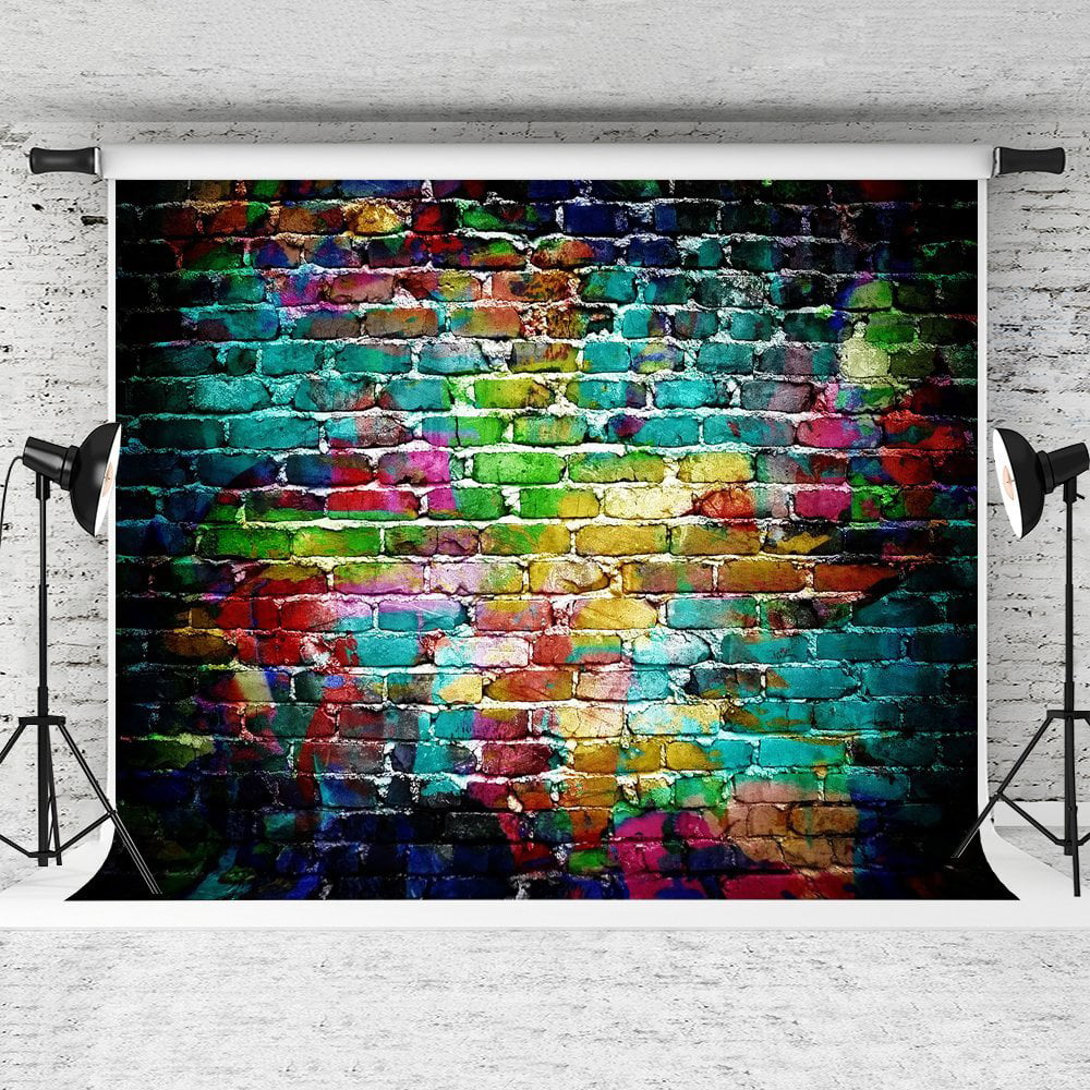 Graffiti Vintage Wall Photography Backdrops Photo Props Studio Background 5x7ft