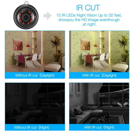 Digoo DG-M1Q 960P 2.8mm Wireless Mini WIFI Night Vision Smart Home Security IP Camera Onvif MonitorNote: IP Camera only support 2.4G RouterDescriptionBrandDigooModelDG-M1Q 2017 Smart Home  - image 1 de 11