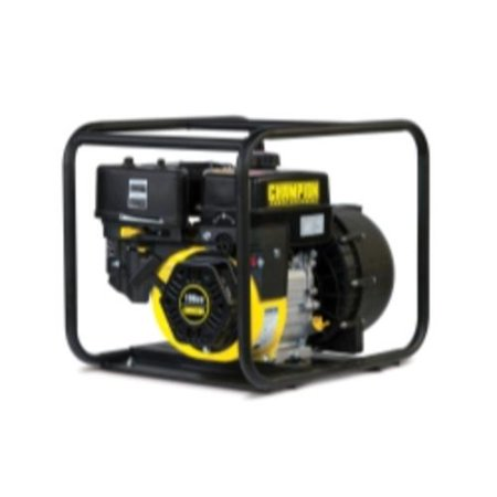 Champion 66526 2 in. Gas Powered Chemical Water Transfer Pump with Clear Water Fittings