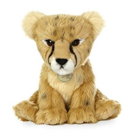 Stuffed Cheetah - aurora world miyoni cheetah cub plush