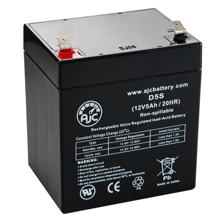 Ansul A15604 12V 5Ah Alarm Battery - This is an AJC Brand Replacement - image 5 de 5