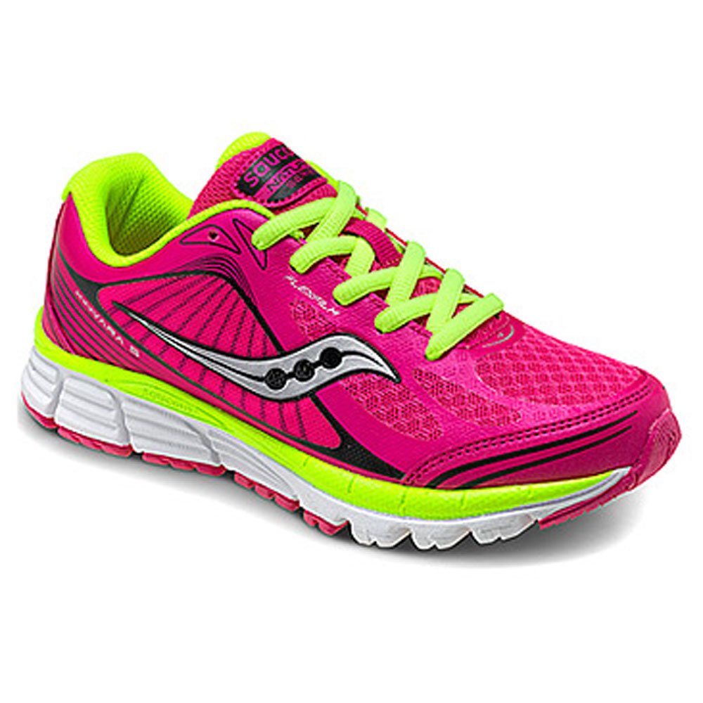 Saucony Kinvara 5 Kids   Round Toe Synthetic  Sneakers