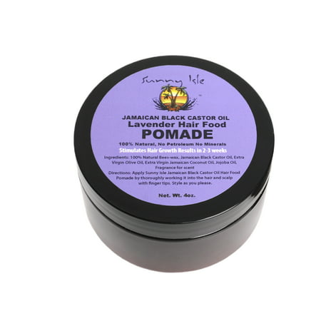 Sunny Isle Lavender Jamaican Black Castor Oil Hair Pomade, 4