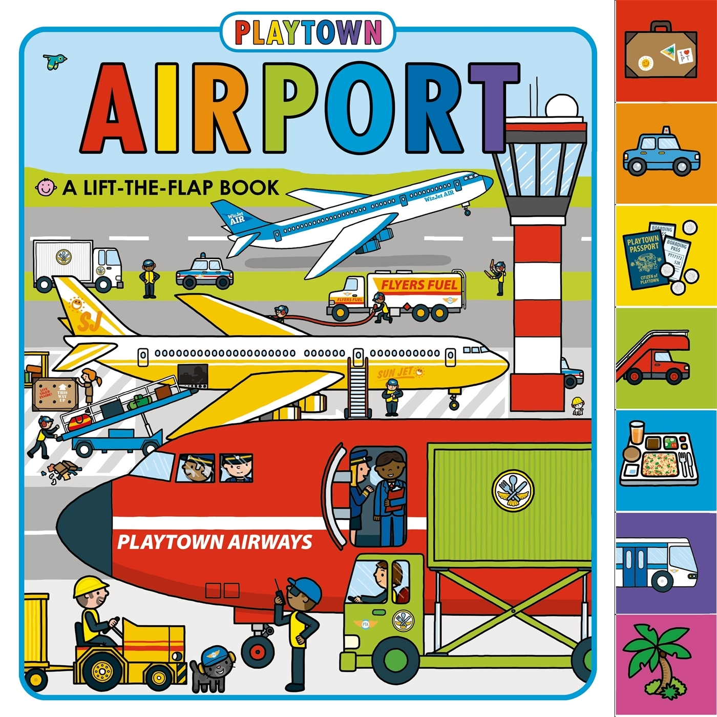 Playtown Airport (Board Book)