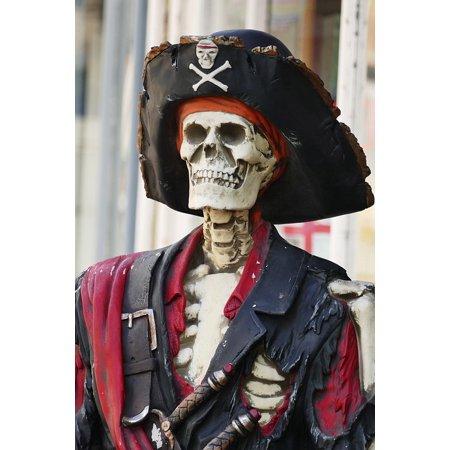 Canvas Print Head Skull Symbol Pirate Bone Skeleton Danger Stretched Canvas 10 x 14 4 Head Multi System
