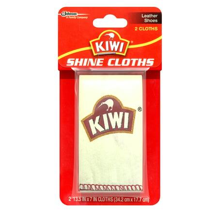 Kiwi Shine Cloths 2 Count