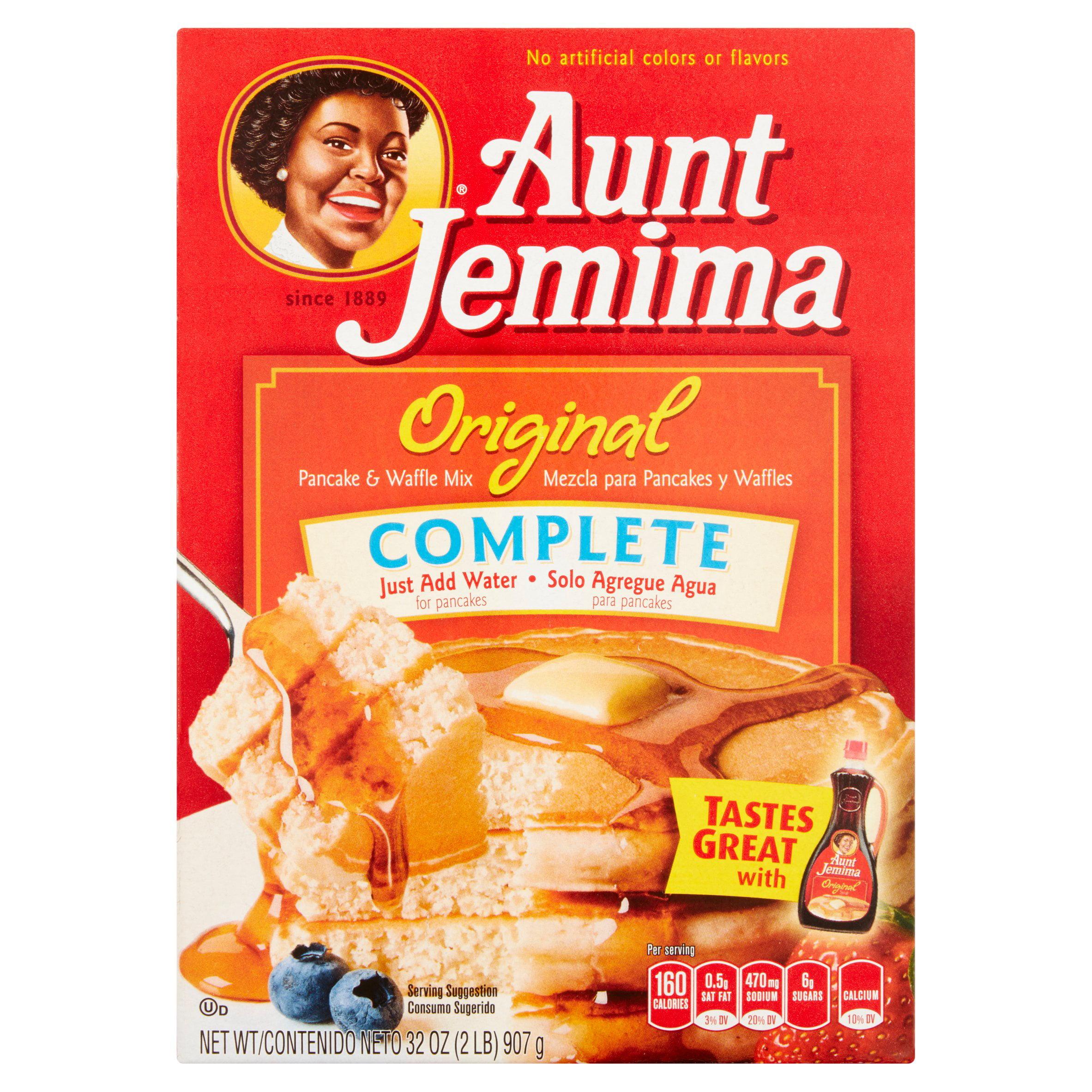 Aunt Jemima Original Complete Pancake & Waffle Mix, 32 oz by The Quaker Oats Company