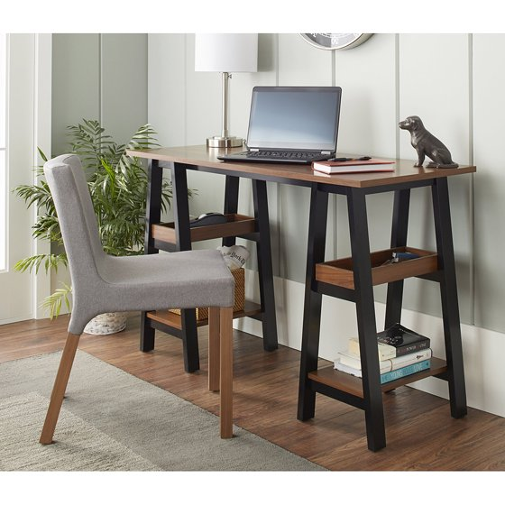10 spring street sawyer work table black and walnut for 10 spring street console table