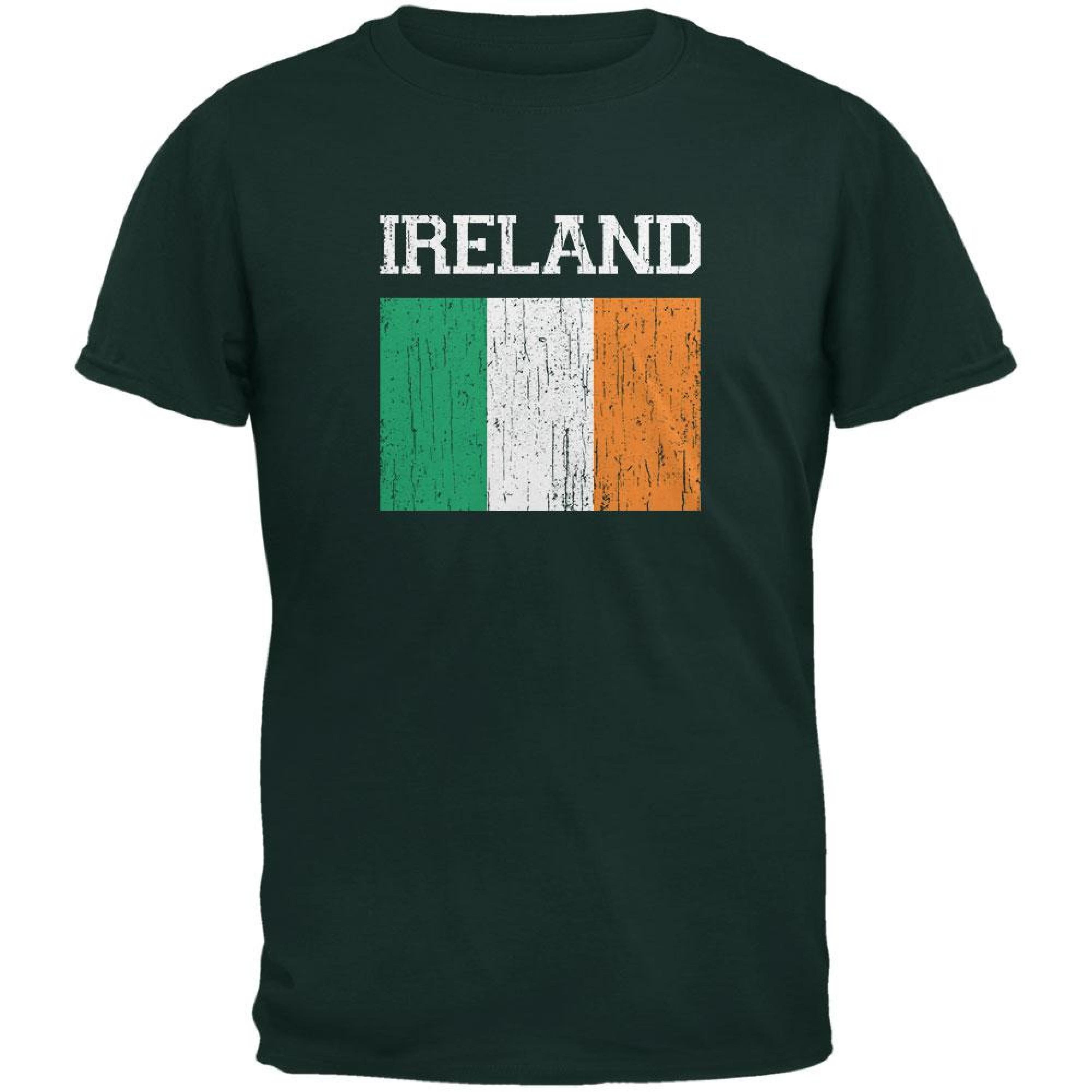 World Cup Distressed Flag Ireland Forest Youth T-Shirt