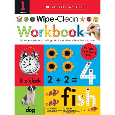 Wipe Clean Workbook: 1st Grade (Scholastic Early - Halloween Crafts For 1st Grade Easy