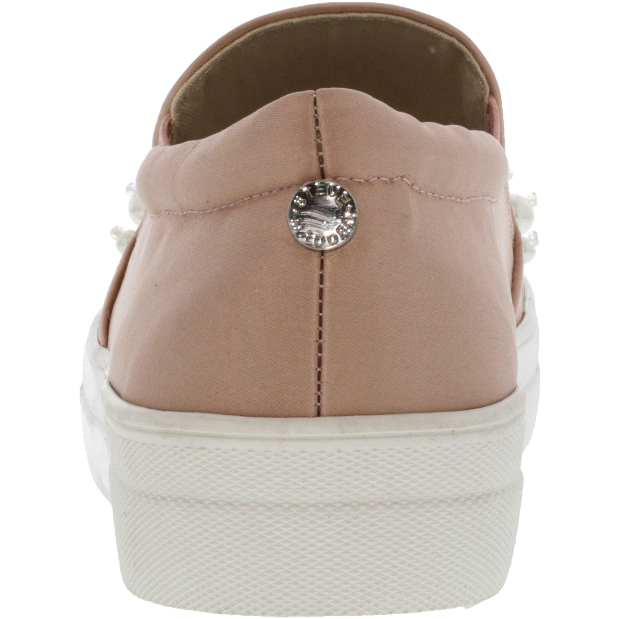 06e0c51b821 Steve Madden Women s Glamour Satin Blush Ankle-High Slip-On Shoes - 10M