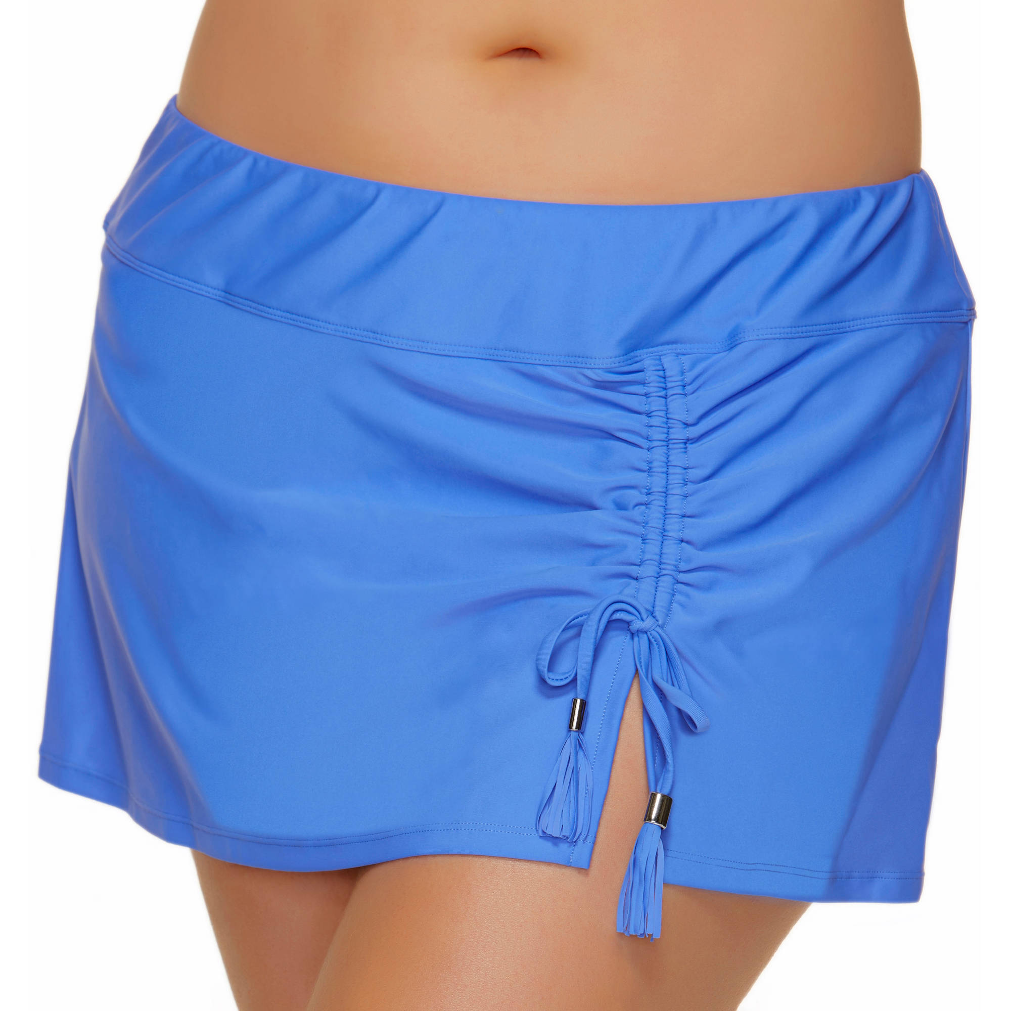 Collections by Catalina Women's Plus-Size Skirted Swimsuit Bottom With Adjustable Ties