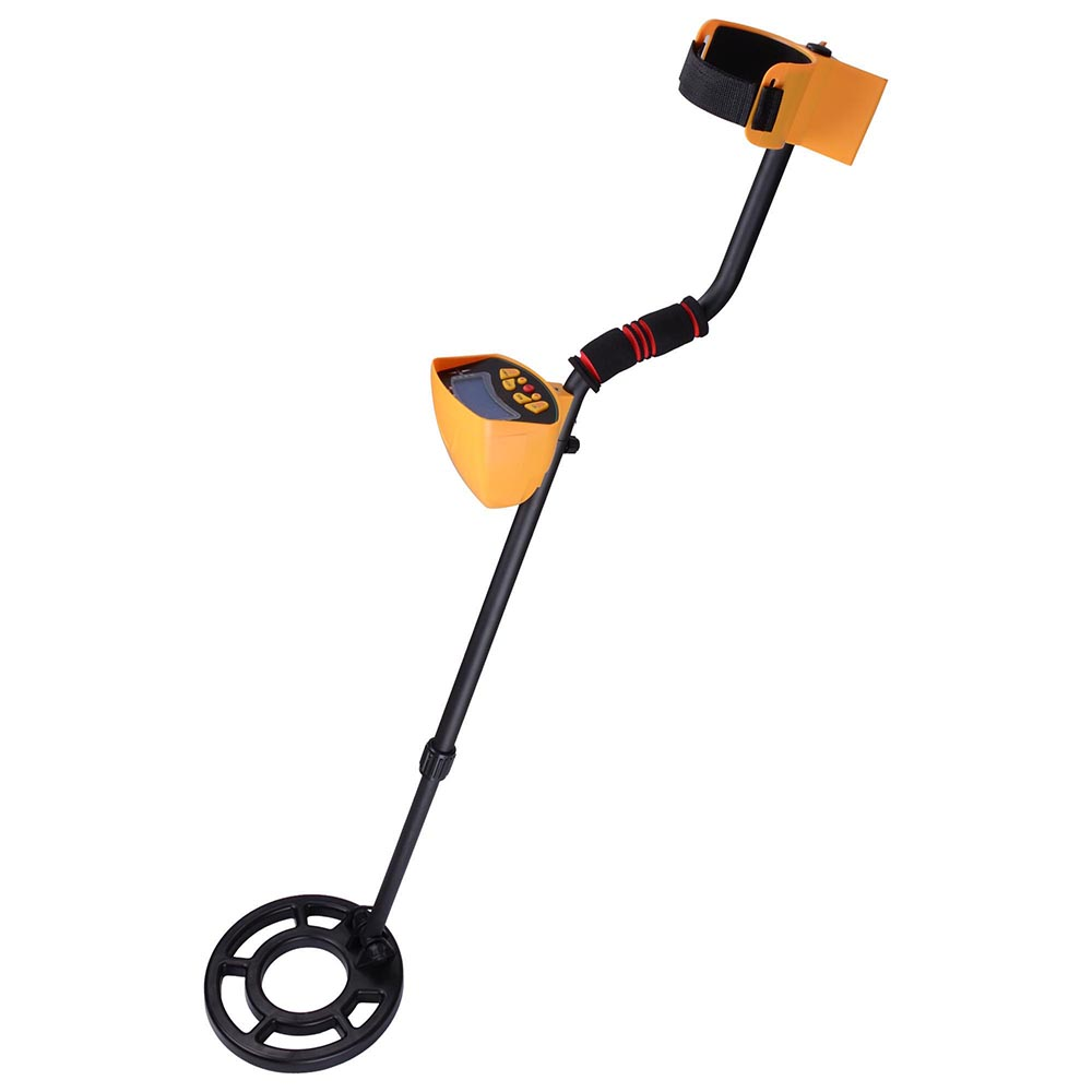 AW MD3010II Metal Detector Treasure Search Digger LCD Wat...