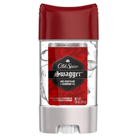 - Old Spice Red Zone Swagger Scent Clear Gel Antiperspirant and Deodorant for Men, 3.8 oz