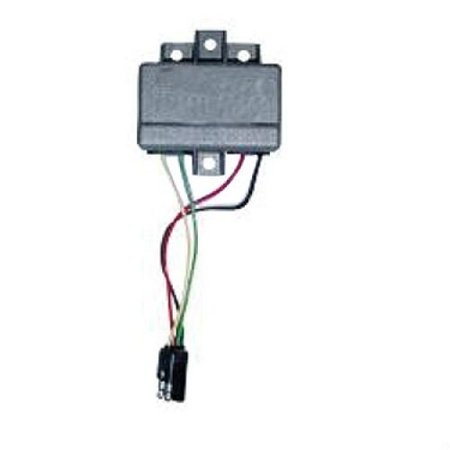 Voltage Regulator - 12 Volt - 4 Spade Plug, New, Ford, D1NN10316A,  Prestolite, 105-210