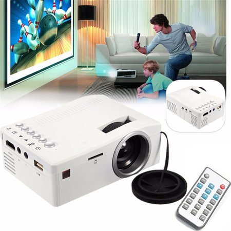2019 Upgraded UNIC 400 lumen Mini Portable Projector, 60