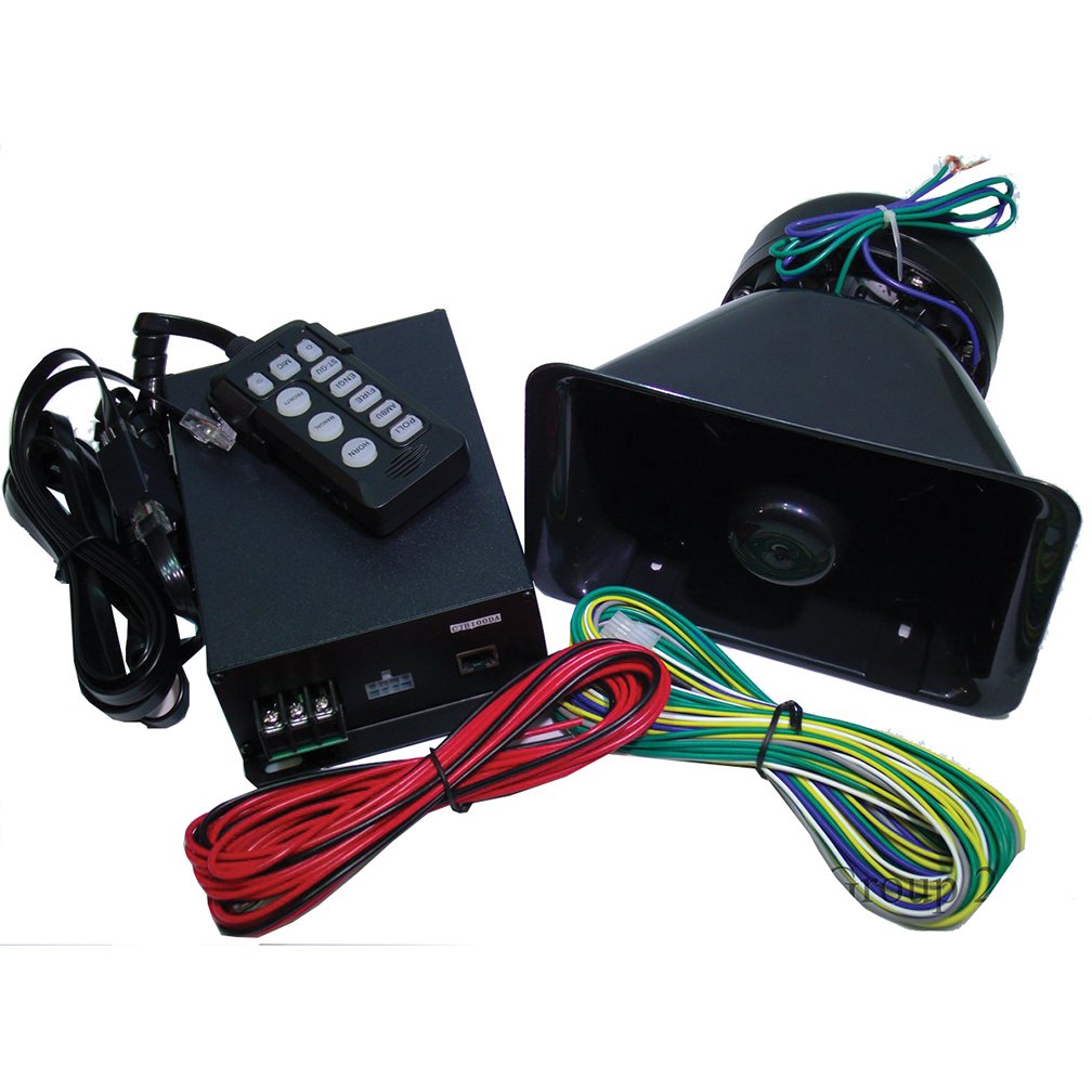 Street Vision SVDA100CJB 100w Siren And Speaker *each*