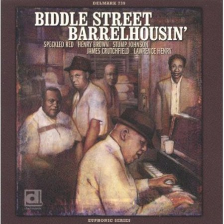 Biddle Street Barrelhousin By the late 1920s, Biddle Street was the site of most blues activity in St. Louis; 13 of the 19 songs here are never before released performances - features Speckled Red, Henry Brown, Stump Johnson, Jame Crutchfield & Lawrence Henry.