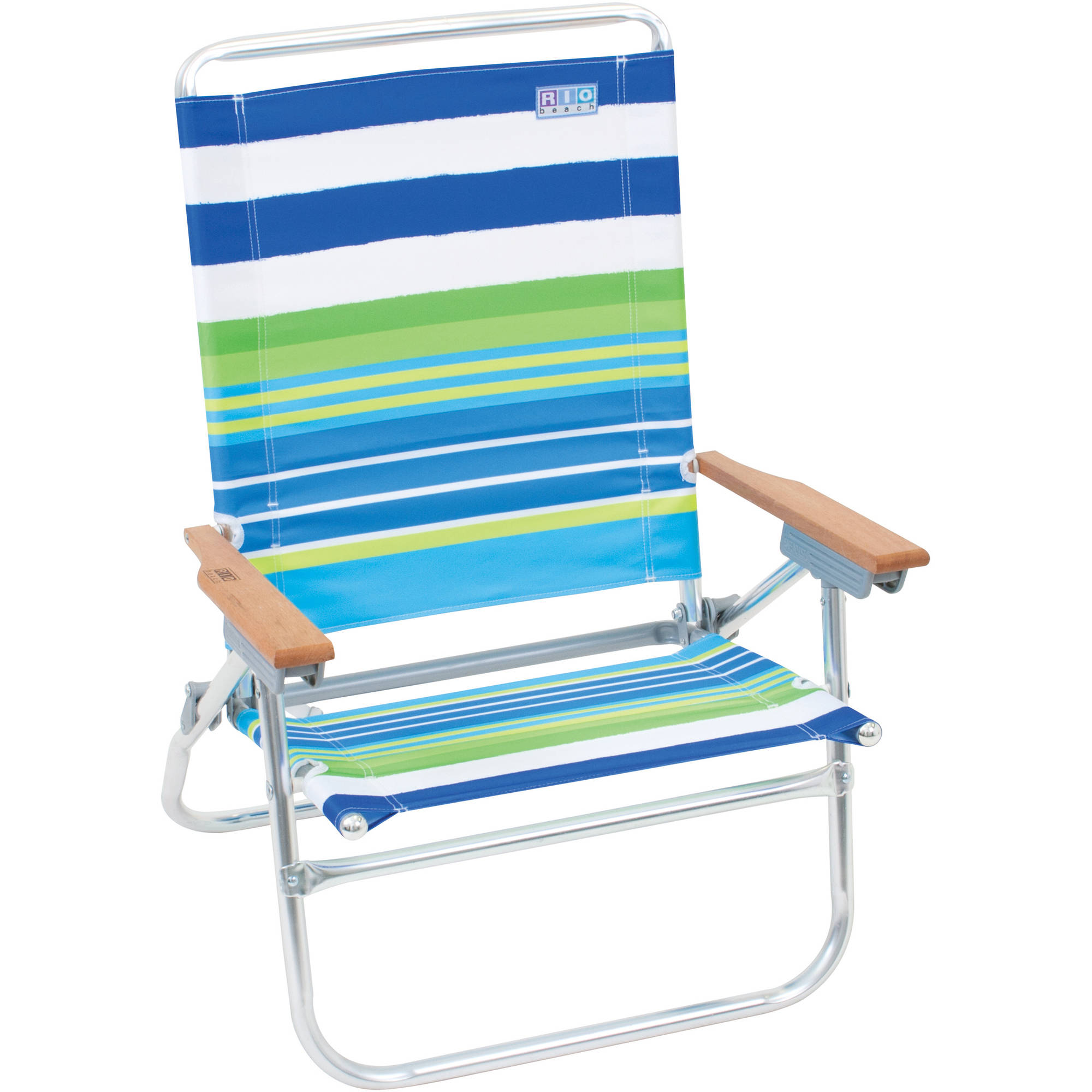 Rio Easy In Easy Out 4 Position Beach Chair   Walmart.com