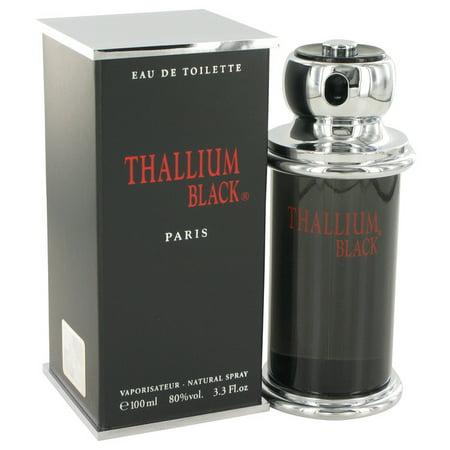 Yves De Sistelle Thallium Black Eau DeToilette Spray for Men 3.3