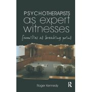 Psychotherapists as Expert Witnesses - eBook