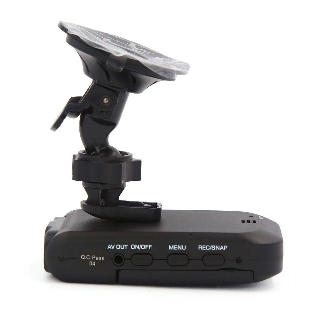 "Portable Black Plastic 2.5"" TFT Screen Auto Car Video Recorder DVR Night Vision - image 1 of 5"