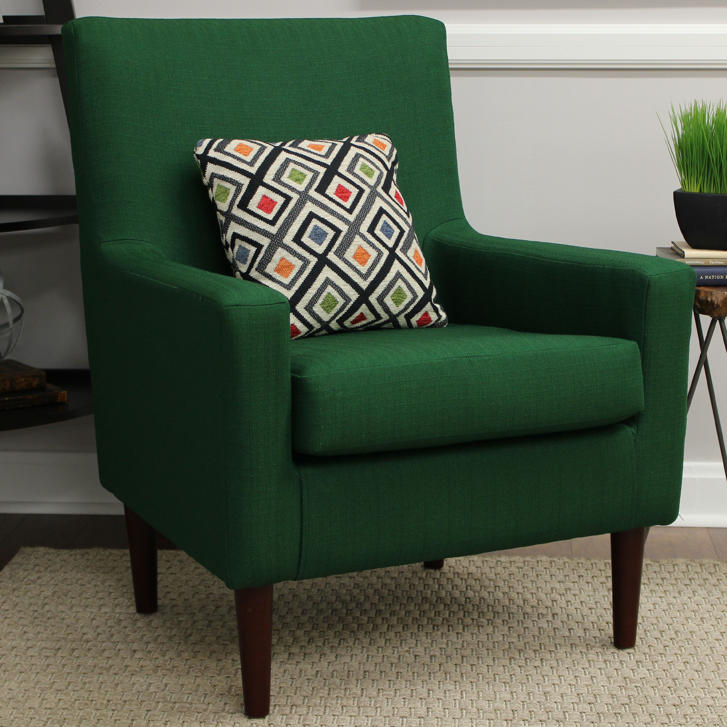 Emma Lounge Chair Emerald Green by Overman