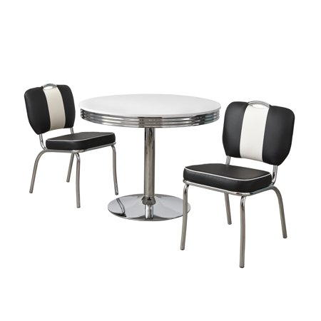 Raleigh Retro 3-piece Dining Set, Multiple Colors ()