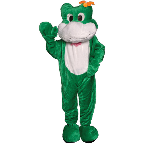Frog Mascot Adult Halloween Costume, Size: Men's - One Size