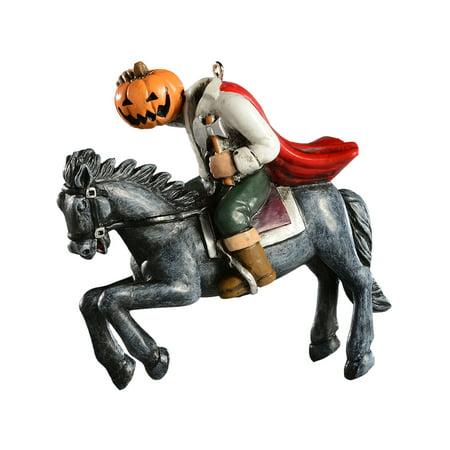 HorrorNaments HorrorNaments Headless Horseman Halloween Christmas Tree Ornament Decoration