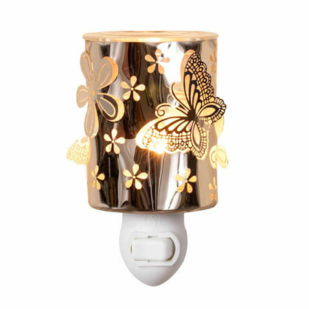 ScentSationals Flutter n Posies Wall Accent Scented Wax Warmer ()