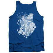 Rise Of The Guardians Coming For You Mens Tank Top Shirt