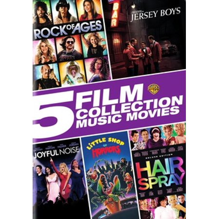5 Film Collection: Music Movies Collection (DVD)
