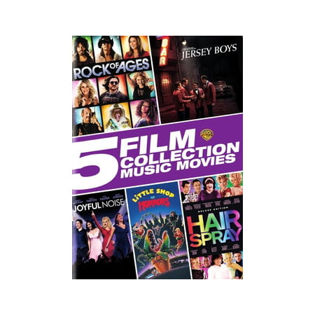 5 Film Collection: Music Movies Collection (DVD) (Music D'halloween Le Film)