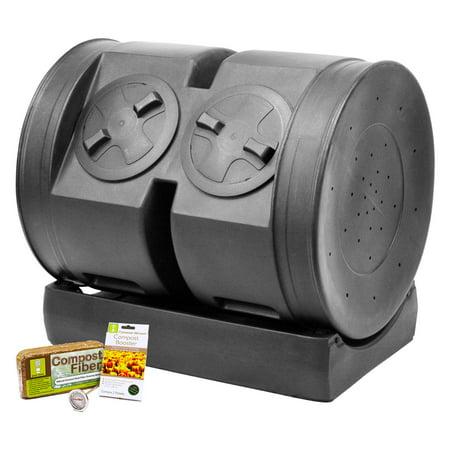 Compost Wizard Dual Senior Starter Kit, Black (Compost Starter)