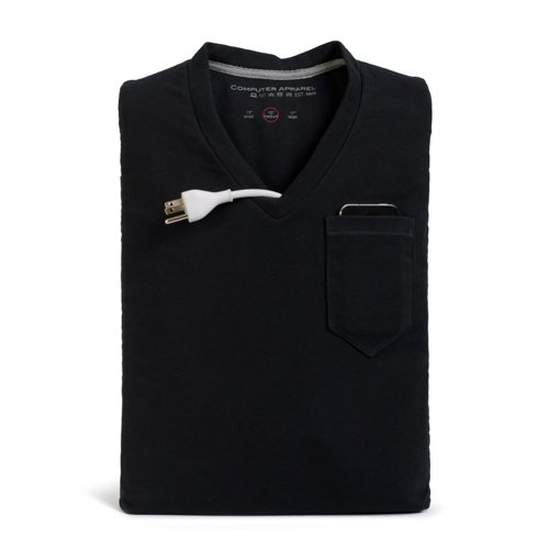 Computer Apparel CA-VN15-BK 15-Inch V-Neck Sleeve  -  Black