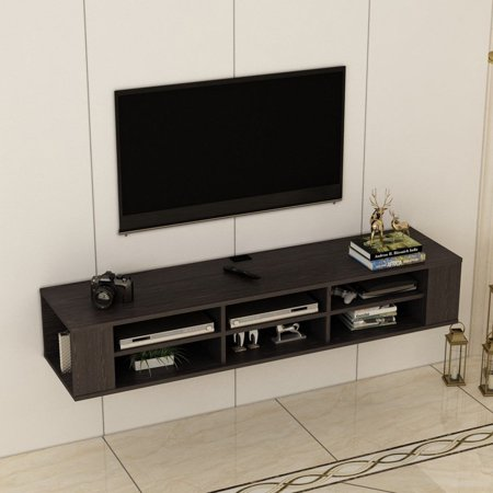 Sensational Floating Wall Mounted Tv Media Console Media Storage Download Free Architecture Designs Rallybritishbridgeorg