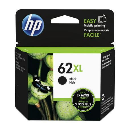 02 Black Ink Cartridge Refill (HP 62XL Black High Yield Original Ink Cartridge (C2P05AN))