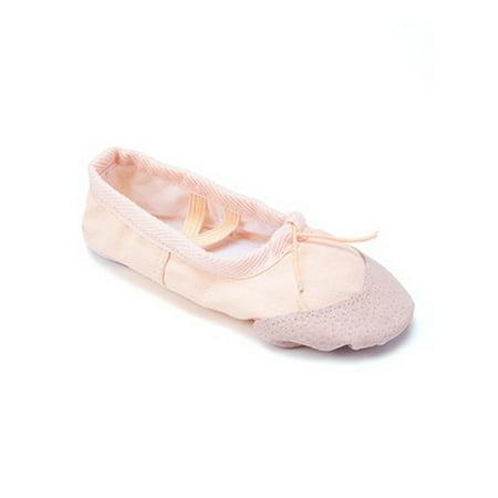 Wenchoice Girls Tan Elastic Strap Rounded Toe Stylish Ballet Shoes (Ballet Shoes Girls Size 12)