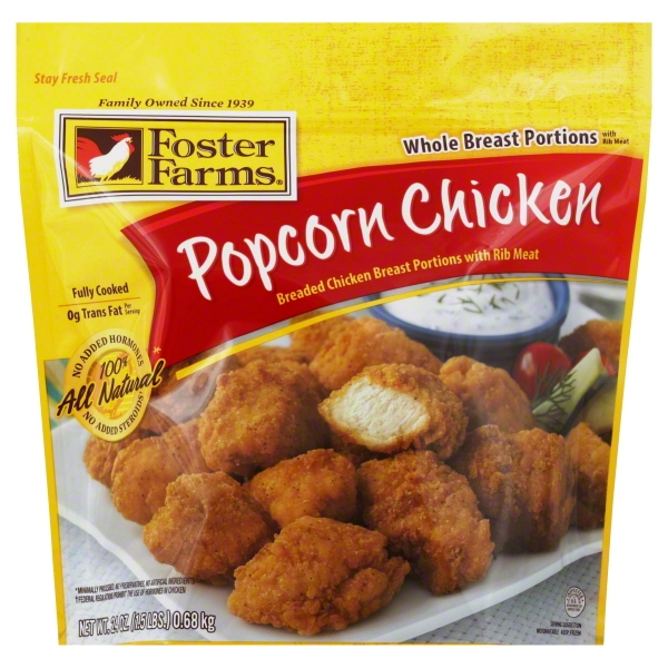 Foster Farms Popcorn Chicken, 24 oz