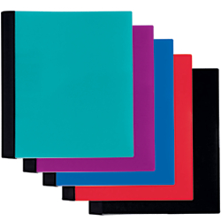 Office Depot Spiral Stellar Notebook, 9in x 11in, 1 Subject, College Ruled, 100 Sheets, 58% Recycled, Assorted Colors, 1SUB-STLR
