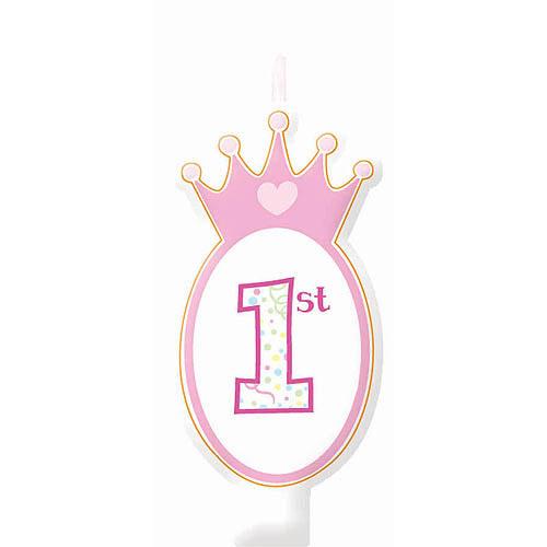 Disney Princess 1st Birthday Candle Set