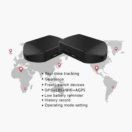 FT03W MiNi WiFi Pet GPS AGPS LBS Tracking Collar Smart Waterproof IP67 for Dog Cat AGPS LBS SMS Positioning Geo-Fence Track Device - image 3 de 7